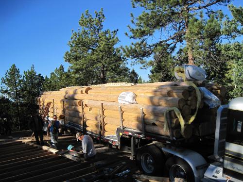 Preparing to set in Colorado