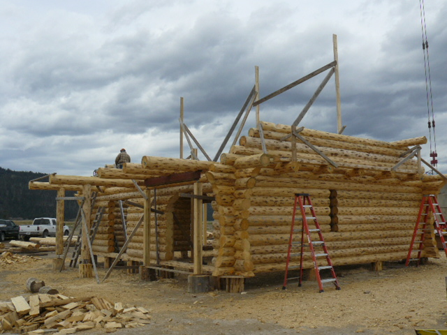 Log Gable ends getting started