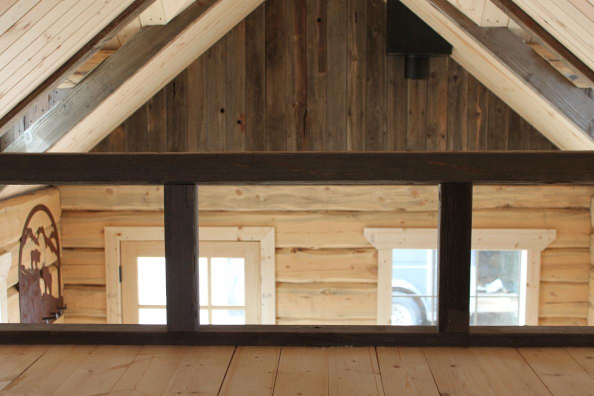 Log Cabin With Loft Floor Plans