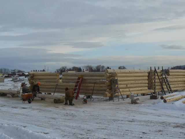 Logsmiths at work!