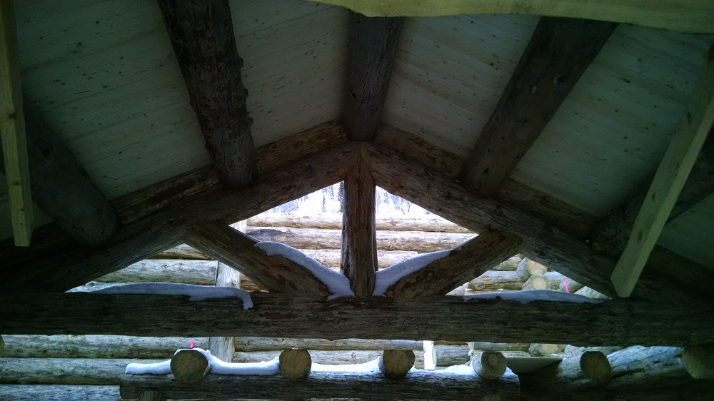Great room truss