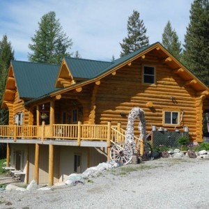 Exteriors under 2500 sq ft montana log homes for 2500 sq ft log home plans