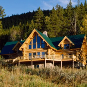 Exteriors over 2500 sq ft montana log homes for 2500 sq ft log home plans