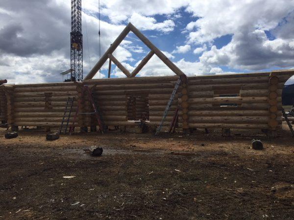 Entry truss